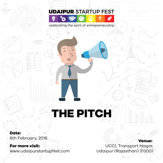 Udaipur Startup Festival - The Pitch