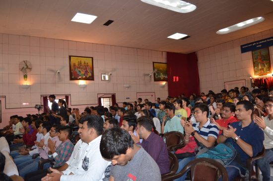 Udaipur students attending the event
