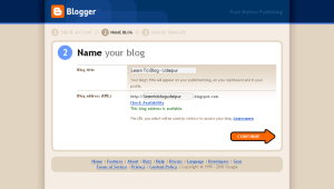 Name your Blog