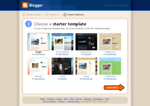Choose image for your Blog