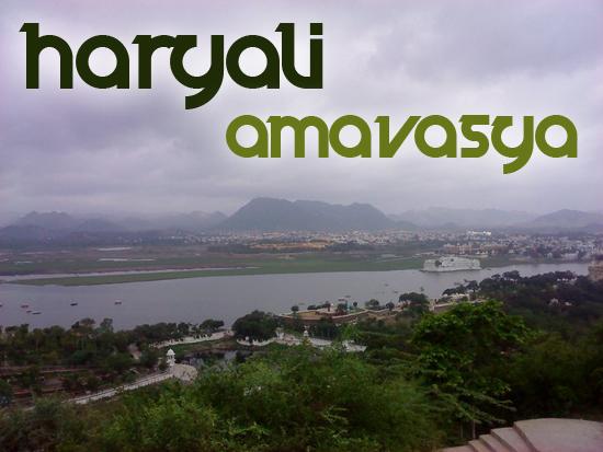 haryali amavasya udaipur