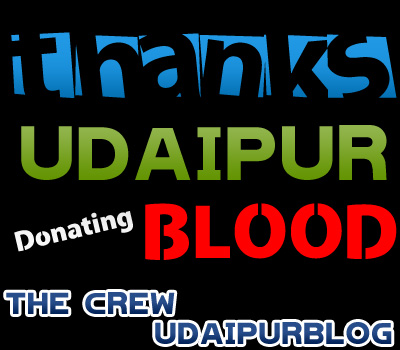 Thanks Udaipur for Donating Blood