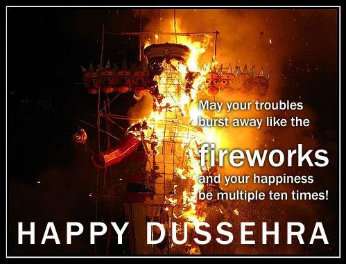 dussehra paragraph in english
