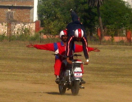 Indian Army Stunt Team Photos