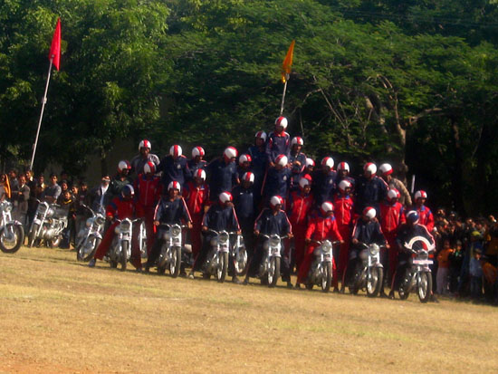 Indian Army Stunt Team