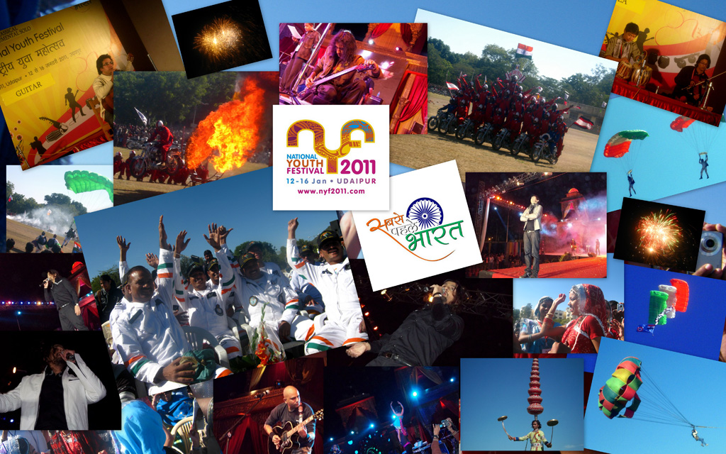 Youth Festival collage