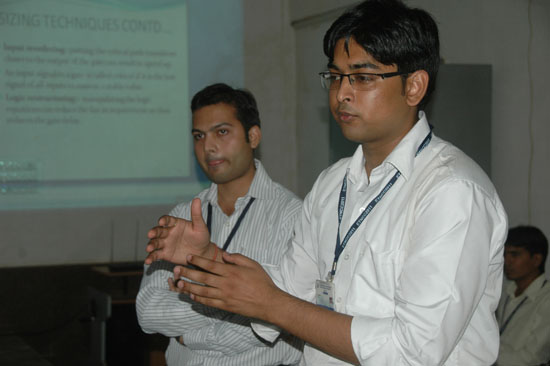 Emerging intellectuals presenting their research papers at ETNCC 2011