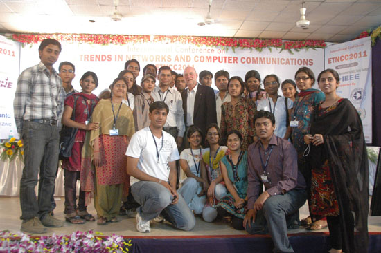 Prof. Sorel with Team of Volunteers and Participants from CTAE | ETNCC-2011