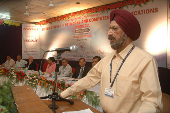 Prof. S.S. Chahal, MPUAT, Udaipur | ETNCC 2011