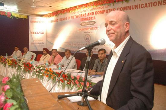 Prof. Sorel Reisman, President, IEEE Computer Society, USA | ETNCC 2011