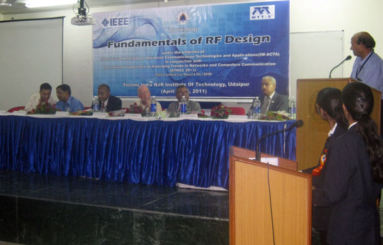 Workshop on fundamentals of RF Design in Udaipur