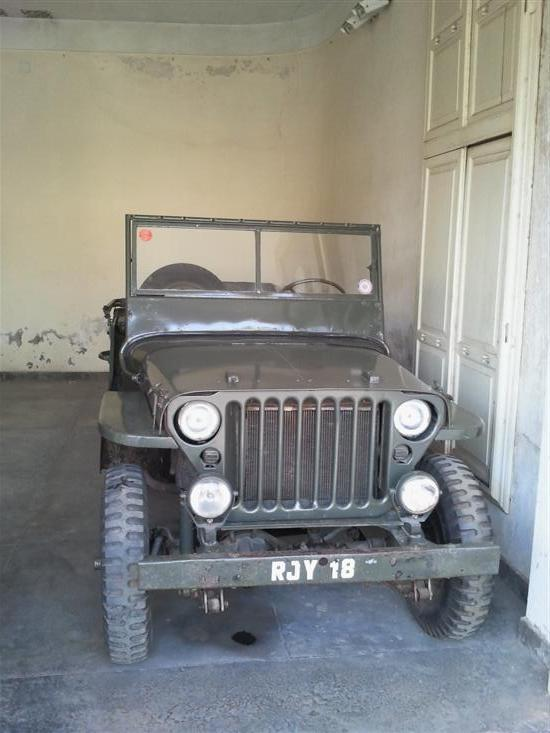 Name of Car: Ford -- Model: Jeep/Trolly -- Year of Mfd: 1942