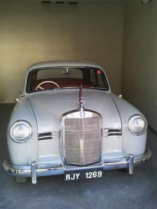 Name of Car: Mercedes - Benz -- Model: 180D -- Year of Mfd: 1956