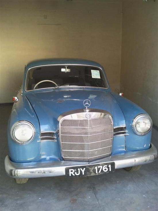 Name of Car: Mercedes - Benz -- Model: 190Db -- Year of Mfd: 1960