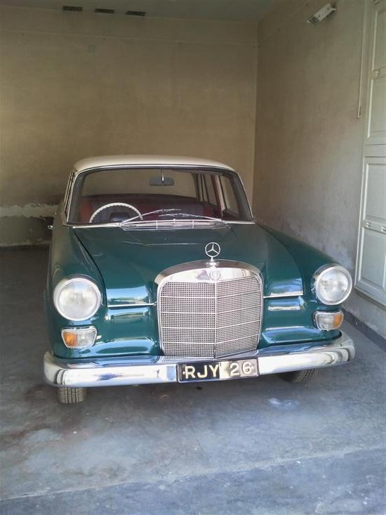 Name of Car: Mercedes - Benz -- Model: 200 -- Year of Mfd: 1966