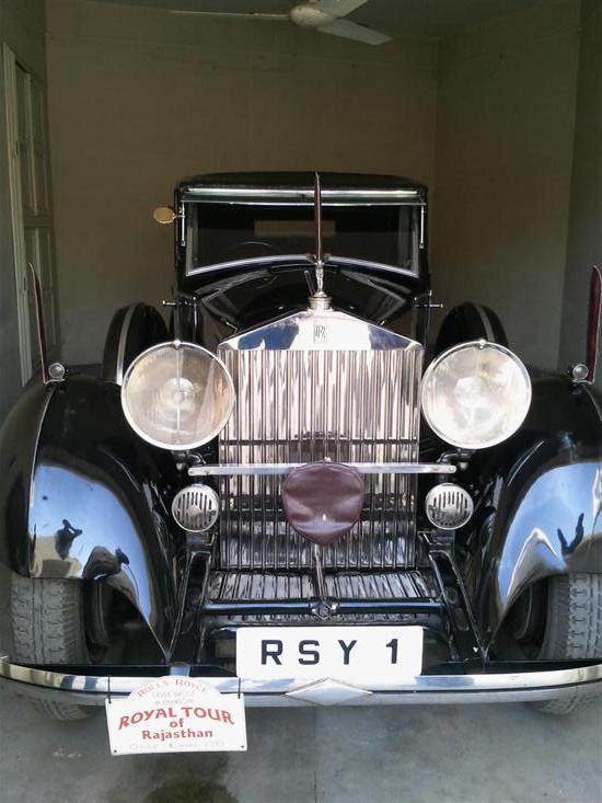 Name of Car: Rolls Royce -- Model: Phantom II -- Year of Mfd: 1934 -- Body Style: Sedanca De Ville -- Regd: RSY 1