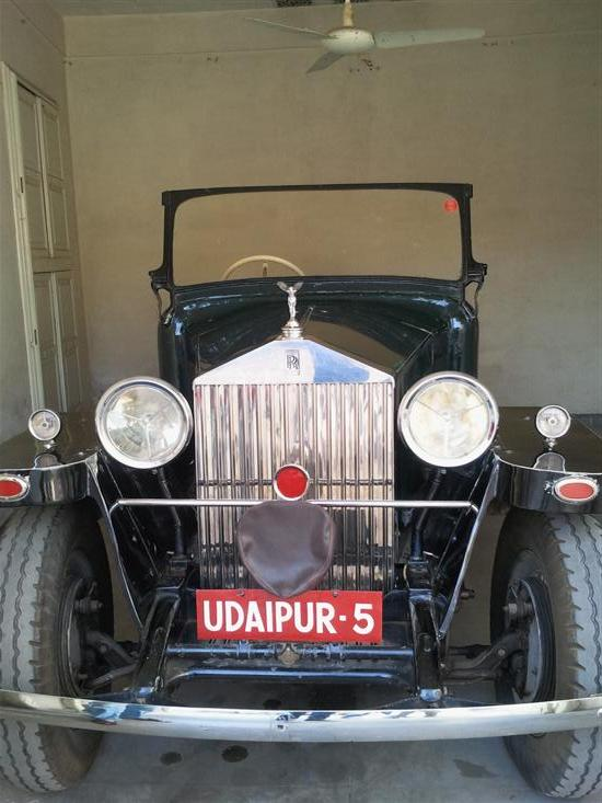 Name of Car: Rolls Royce -- Model: 20/25 H.P. -- Year of Mfd: 1934