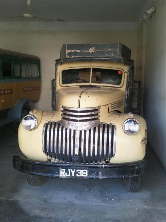 Name of Car: Chevrolet -- Model: Truck -- Year of Mfd: 1946