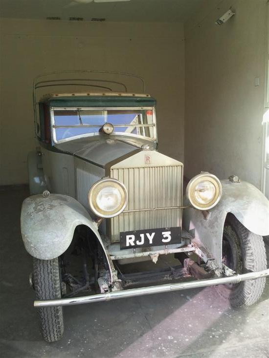 Name of Car: Rolls Royce -- Model: 20/25 H.P. -- Year of Mfd: 1930-31
