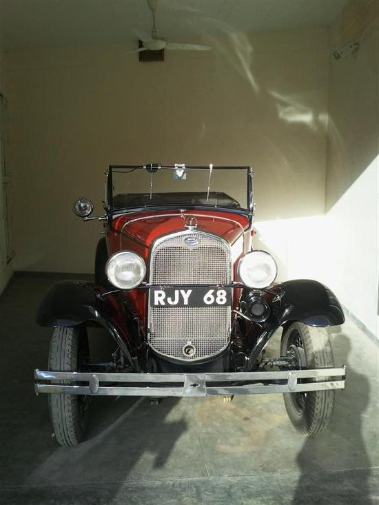 Name of Car: Ford - A -- Model: Standard Phaeton -- Year of Mfd: 1930