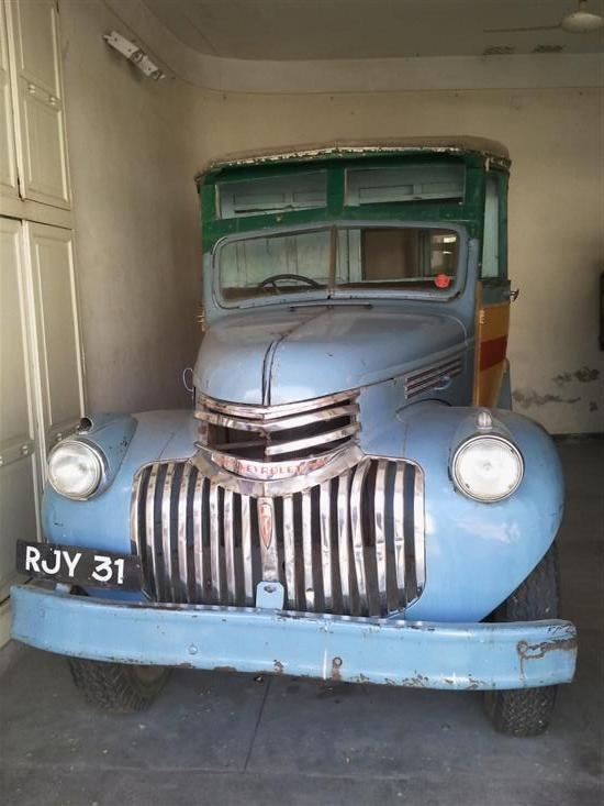 Name of Car: Chevrolet -- Model: Bus -- Year of Mfd: 1947