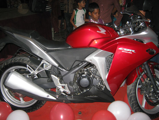 Honda Cbr Launch