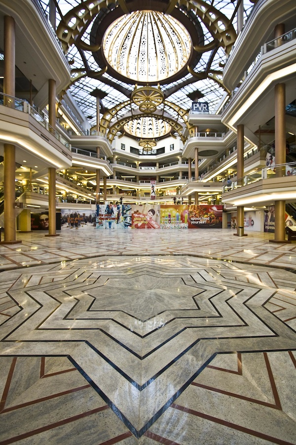 Inside the Celebration Mall Udaipur