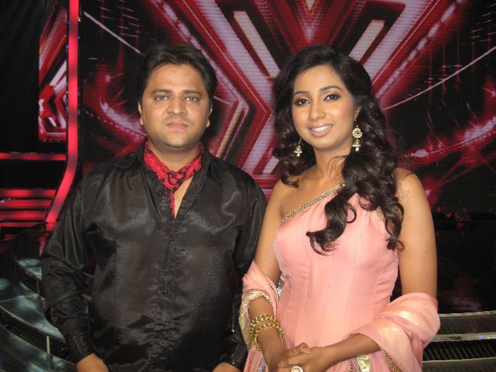 Shahnavaz with Shreya Goshal