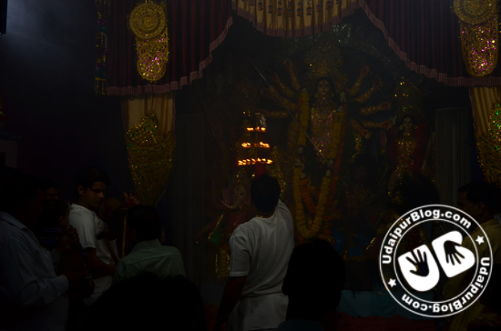 Durga Puja Aarti | UdaipurBlog