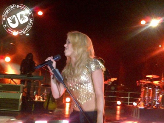 Shakira performing on KP Singh's Birthday Party