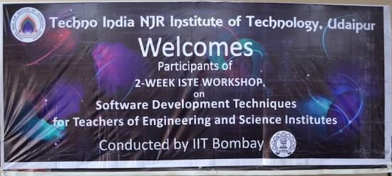 IITB - 2 week ISTE Workshop