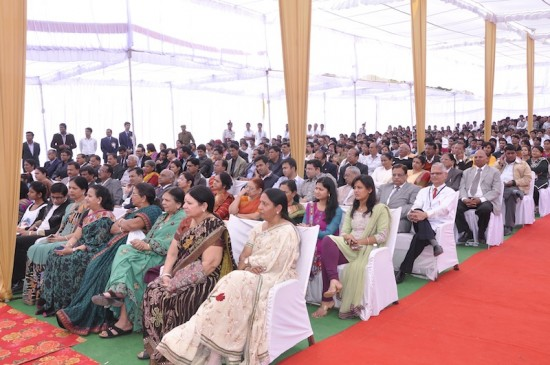geetanjali medical university inaugural