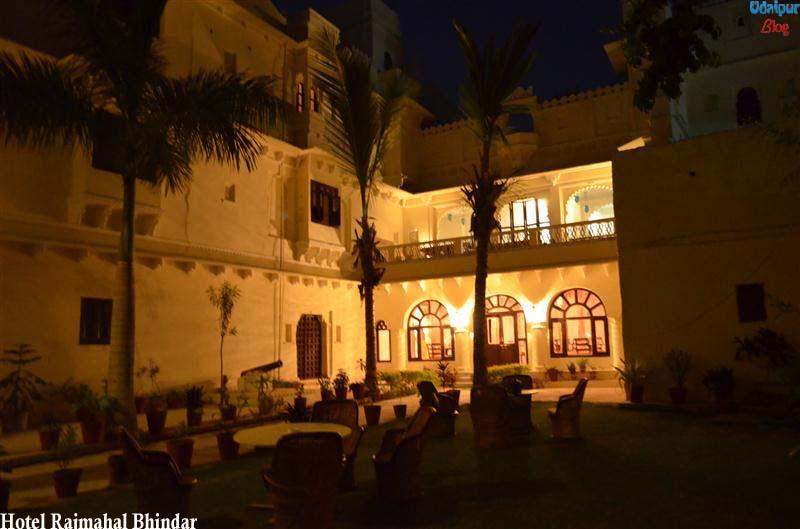 Hotel Rajmahal Bhindar- a Closer View