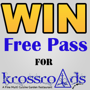 Win 5 Free New Year Celebration Passes for Krossroads Restaurant