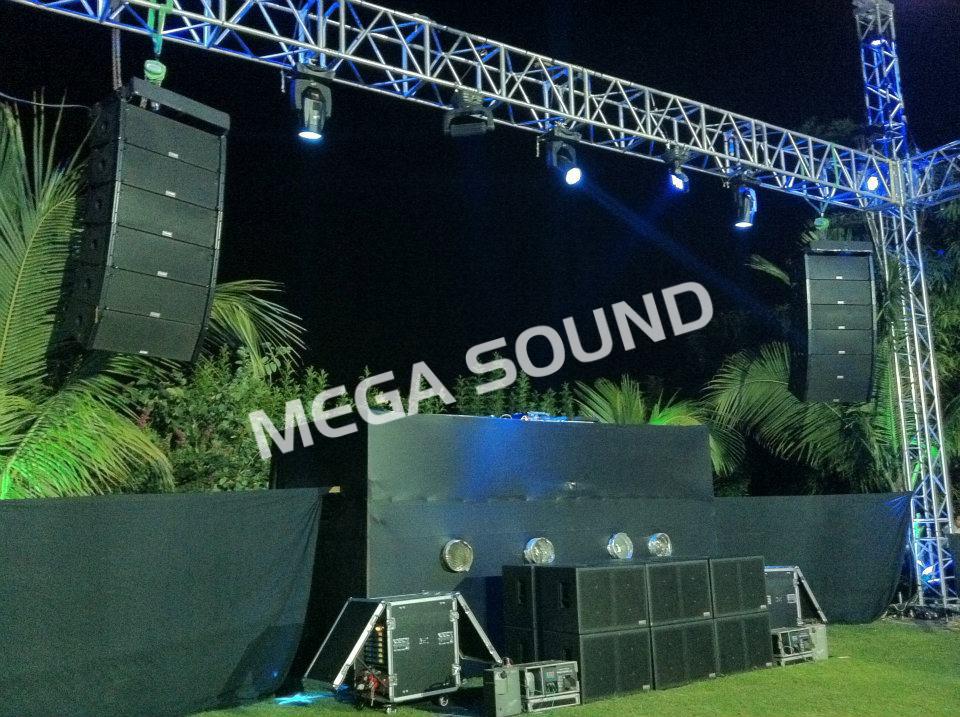 Mega sound setup