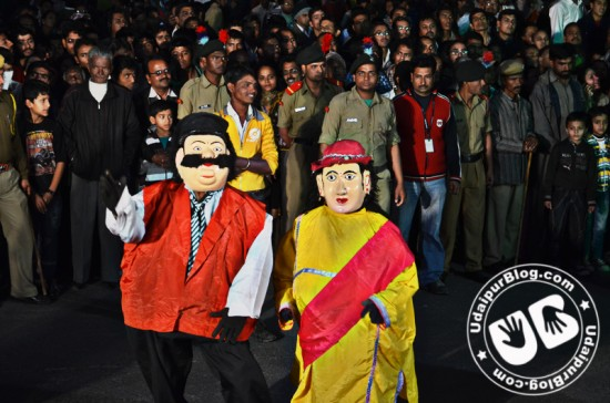 Carnival in udaipur