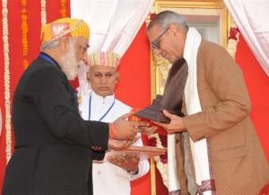 Maharana Kumbha Award - Dr. Nand Kishore Acharya