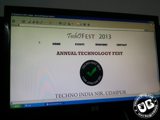 College Site : techno India NJR