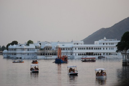 Lake Pichola During Gangaur