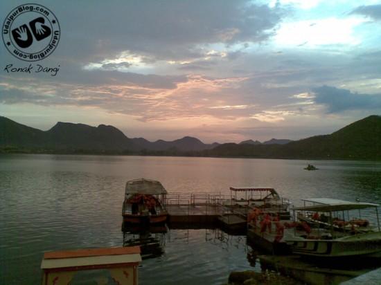 Lake Fatesagar - Ronak Dangi