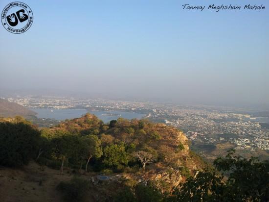 Top of Sajjangarh - Tanmay Meghsham Mahale