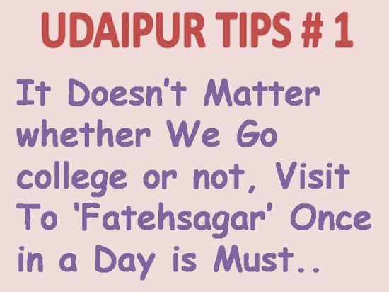 Udaipur tips 1
