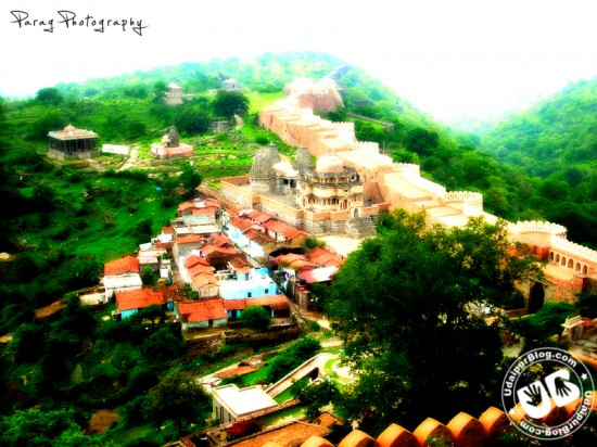 Kumbhalgarh Fort after the rains