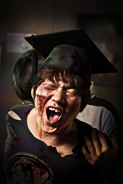 Angry Student - Via : http://www.flickr.com/photos/hakbong/6353550573/