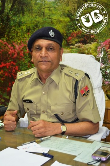 Superintendent Police of Udaipur - Mr. Hari Prasad Sharma