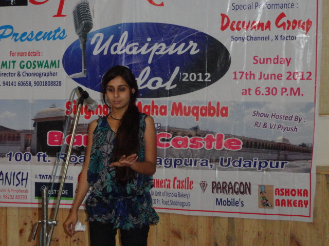 Udaipur Idol Auditions