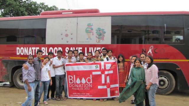 IIMU BLOOD DONATION CAMP