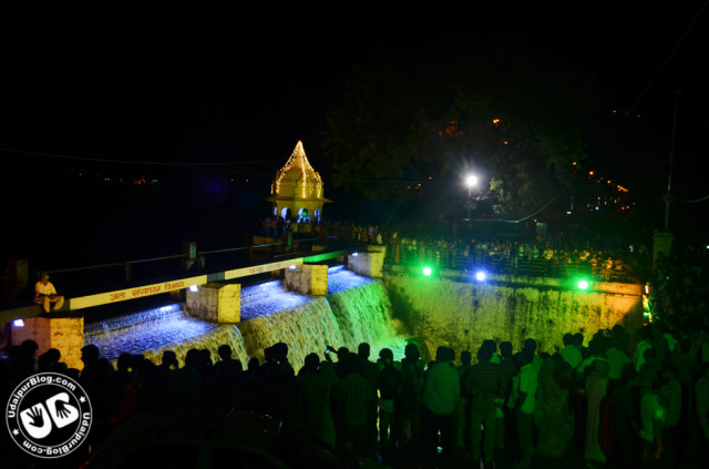 fatehsagar Overflow year 2012