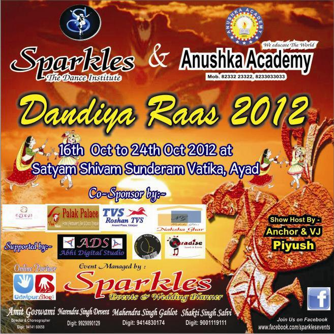 Dandiya Raas 2012 with Sparkles
