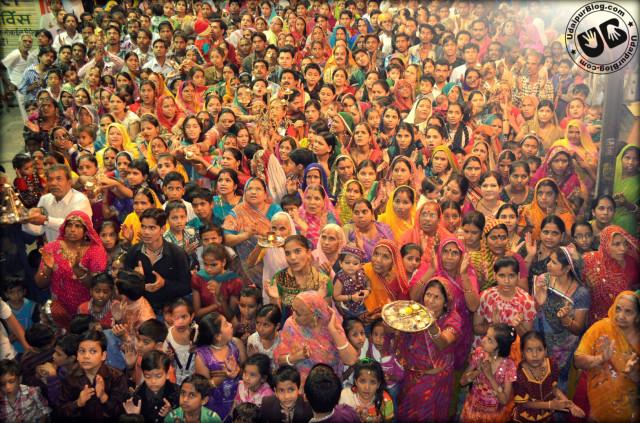 Garba beats in Udaipur